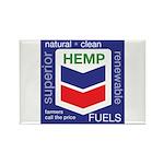 Hemp Fuels Rectangle Magnet (10 pack)