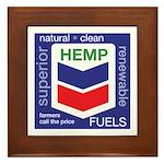 Hemp Fuels Framed Tile