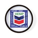 Hemp Fuels Wall Clock