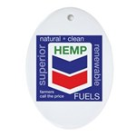 Hemp Fuels Ornament (Oval)