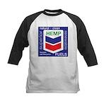Hemp Fuels Kids Baseball Jersey