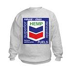 Hemp Fuels Kids Sweatshirt