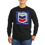 Hemp Fuels Long Sleeve Dark T-Shirt