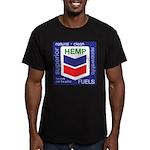 Hemp Fuels Men's Fitted T-Shirt (dark)