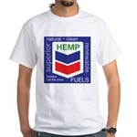 Hemp Fuels White T-Shirt