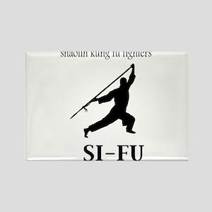 Sifu Rectangle Magnet