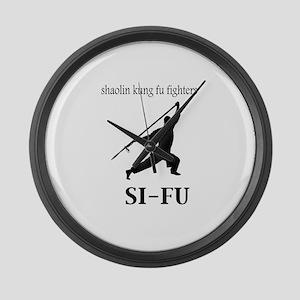 Sifu Large Wall Clock