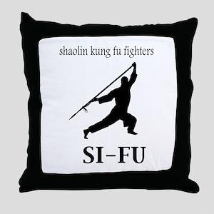 Sifu Throw Pillow