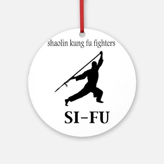Sifu Ornament (Round)
