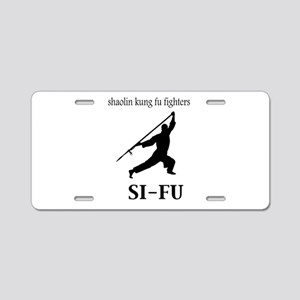 Sifu Aluminum License Plate
