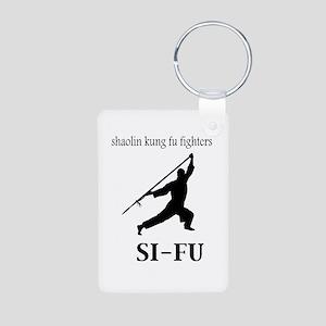Sifu Aluminum Photo Keychain