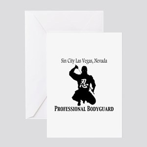 Ninja Bodyguard Greeting Card