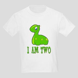 I Am Two Dinosaur Kids T-Shirt