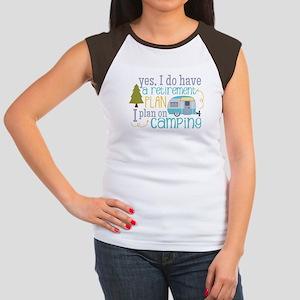 5aaa5c7fe0a85f Camping Women s Cap Sleeve T-Shirts - CafePress