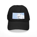Arctic Fox Black Cap with Patch