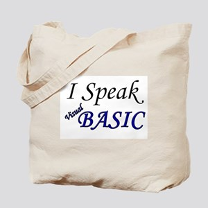 """I Speak Visual Basic"" Tote Bag"