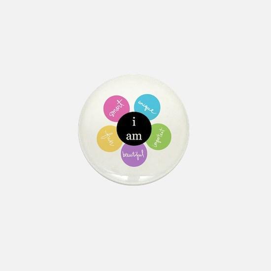 """""""i am..."""" Mini Button"""