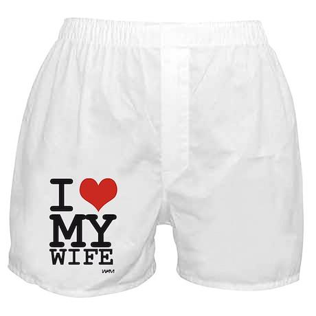 I Love My Pantaloncini Moglie Del Pugile L7s73sVj