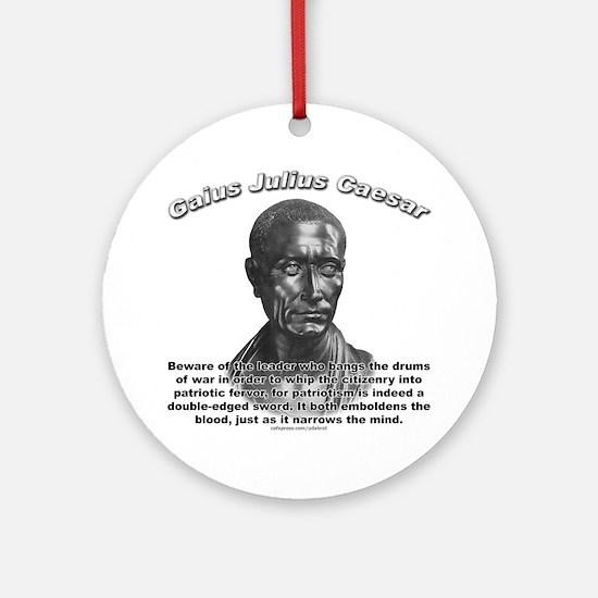 Julius Caesar 01 Ornament (Round)