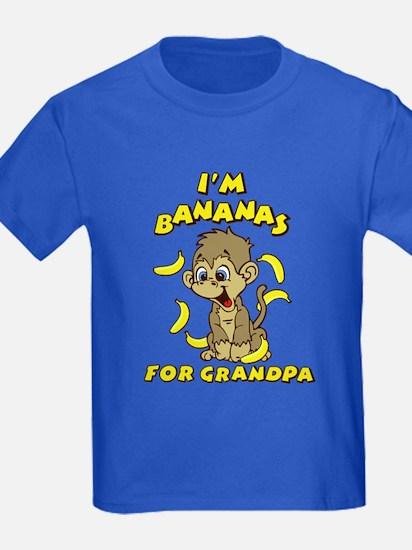 I'm Bananas For Grandpa T