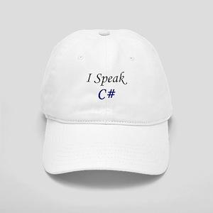 """""""I Speak C#"""" Cap"""