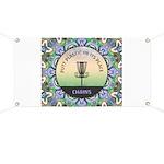 Disc Golf Mandala Banner