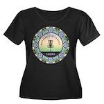 Disc Golf Mandala Plus Size T-Shirt