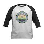 Disc Golf Mandala Baseball Jersey