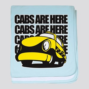 Cabs Are Here baby blanket