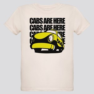 Cabs Are Here Organic Kids T-Shirt