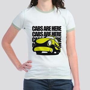 Cabs Are Here Jr. Ringer T-Shirt