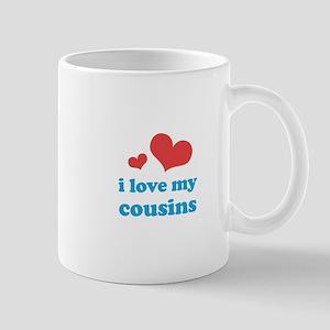 I Love My Cousins Mug