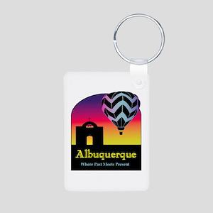 Albuquerque Aluminum Photo Keychain