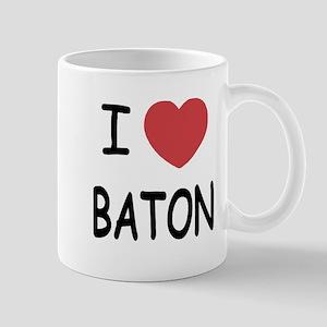 I heart baton Mug