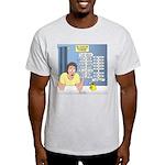 Self-Quarantine Derangement Syndrome Light T-Shirt