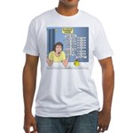 Self-Quarantine Derangement Syndrom Fitted T-Shirt