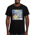 Self-Quarantine Derang Men's Fitted T-Shirt (dark)
