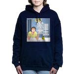 Self-Quarantine Derangem Women's Hooded Sweatshirt
