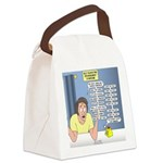 Self-Quarantine Derangement Syndr Canvas Lunch Bag