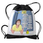 Self-Quarantine Derangement Syndrom Drawstring Bag