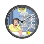 Self-Quarantine Derangement Syndrome Wall Clock