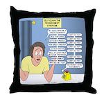 Self-Quarantine Derangement Syndrome Throw Pillow