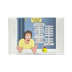 Self-Quarantine Derange Rectangle Magnet (10 pack)