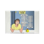 Self-Quarantine Derang Rectangle Magnet (100 pack)