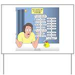 Self-Quarantine Derangement Syndrome Yard Sign