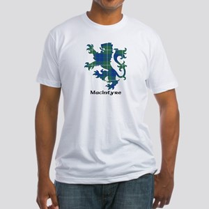 Lion-MacIntyre hunting Fitted T-Shirt