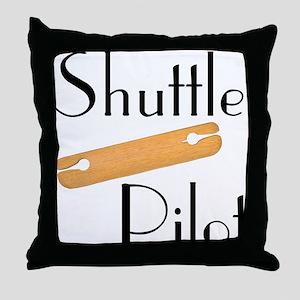 Shuttle Pilot Throw Pillow
