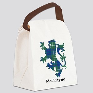 Lion-MacIntyre hunting Canvas Lunch Bag
