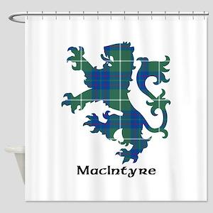 Lion-MacIntyre hunting Shower Curtain