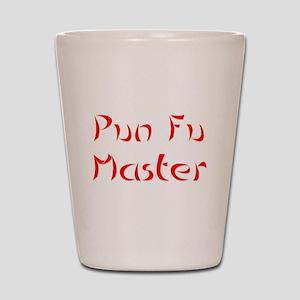 Pun Fu Master Shot Glass